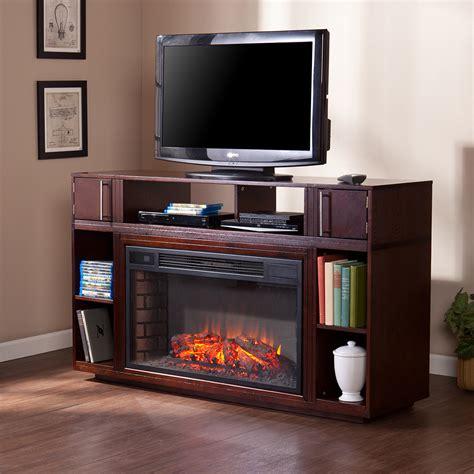 espresso electric fireplace media console bexley electric fireplace media console in espresso fe9024