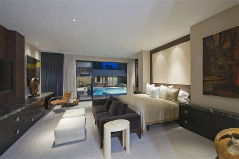 california bedroom california dream home bedroom with pool view interior
