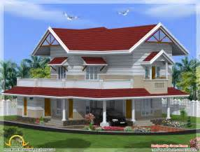 House Plans In Kerala Style 2100 Sq 3 Bedroom Kerala Style House Indian House Plans