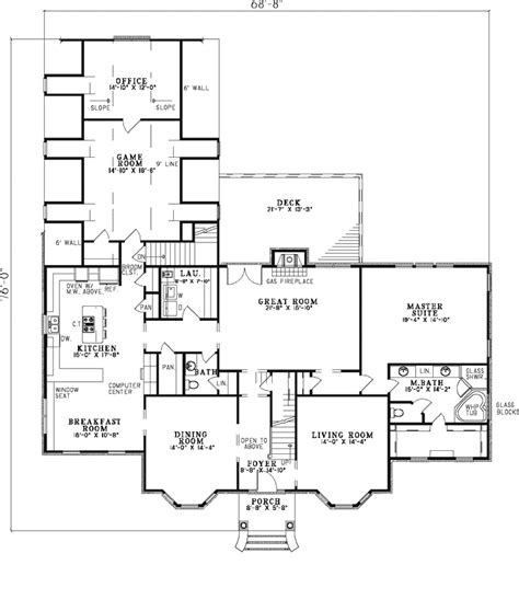 federal style home floor plans house design plans