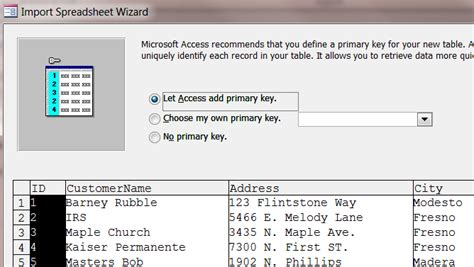 resetting primary key in access how to creae access table from excel data iaccessworld com