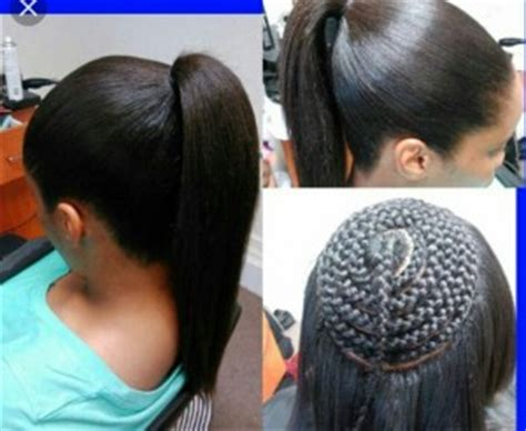 partial sew in hairstyles for synthetic hair partial sew in better extension salon best hair