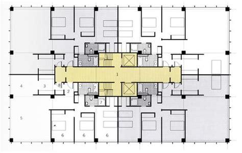 mies van der rohe floor plan multi apartment buildings digit 225 lis tank 246 nyvt 225 r