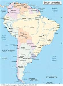western south america map travel with olga writings links
