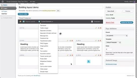 layout builder widget area 1 visual composer build wordpress websites in minutes idevie
