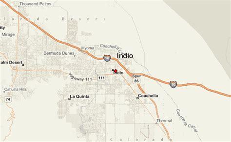 california map indio indio location guide