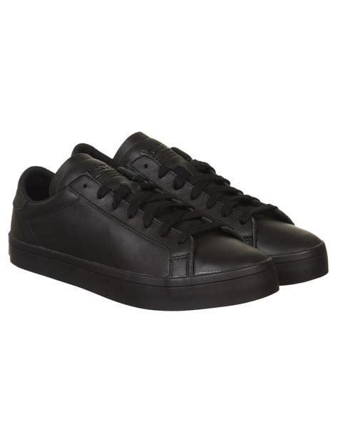 adidas originals court vantage shoes core blackblack