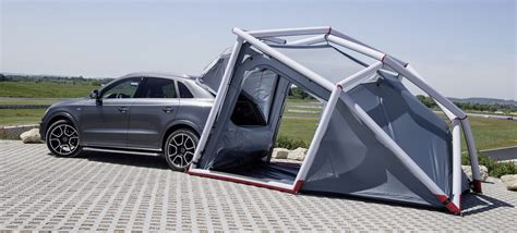 Cer Awning Tent by This Tent Makes The Car Part Of The Canopy Gizmodo Australia