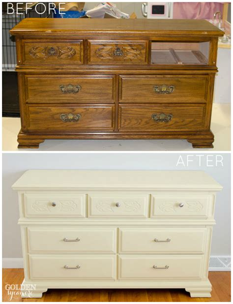 Redo Old Kitchen Cabinets by How To Give Old Furniture A Modern Look With Chalk Paint
