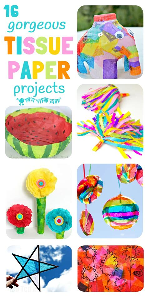tissue paper craft for tissue paper crafts for craft room