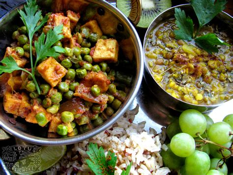 indian vegetarian diet food recipes indian vegan recipes the lotus and the artichoke