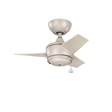 4 inch ceiling fan downrod kichler 310124ans antique satin silver yur 24 quot outdoor