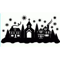 Aufkleber Plotten Bielefeld by Weihnachten Silhouette And Aufkleber On Pinterest
