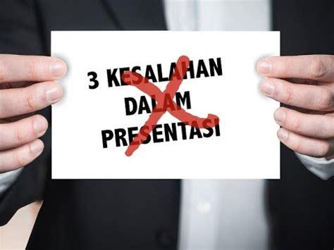 bagaimana menyusun struktur presentasi yang baik presentasi yang baik hindari 3 kesalahan umum ini youtube