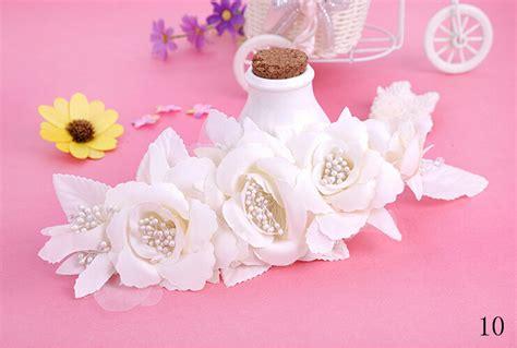 handmade hairwear for girls pearls beaded pistil