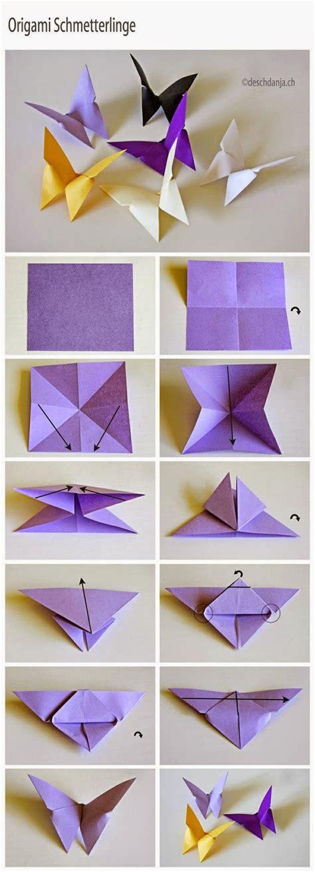 tutorial origami yang mudah origami rama rama yang mudah from famf tower