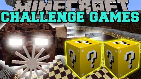 minecraft lucky block mod game online minecraft molenoid challenge games lucky block mod