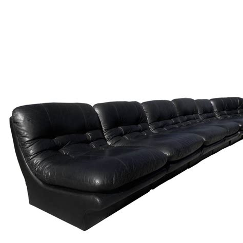 7 piece leather sectional sofa monumental seven piece kagan style leather sectional