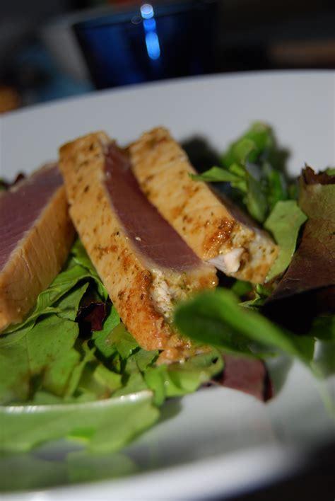 how to make seared ahi tuna