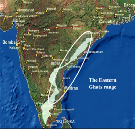 eastern ghats eastern ghats map location get free image about wiring