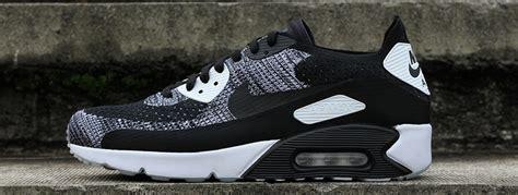 Ll Nike nike air max 90 ultra 2 flyknit black white 875943 001 ll fastsole co uk