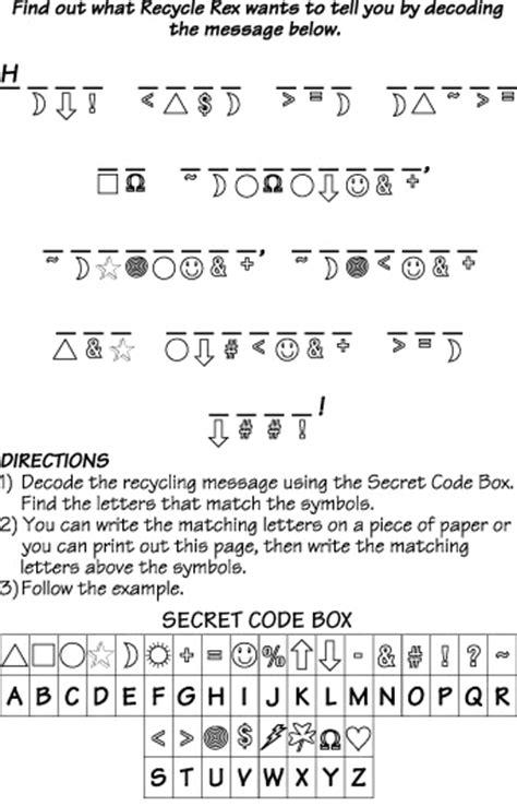 secret activity all worksheets 187 secret code worksheets for