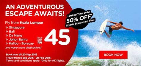 Air Asia Fixed Promo Makasar Kualalumpur Kualalumpur Makasar airasia promotion september 2015