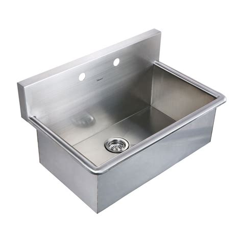 laundry sink whitehaus noah collection 31 inch commercial drop in laundry sink