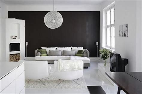 Interior Design Black Walls by How To Decorate In Black And White