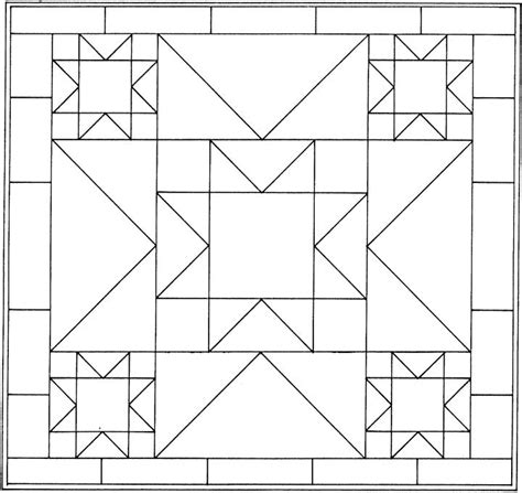 gallery quilt coloring page for kids