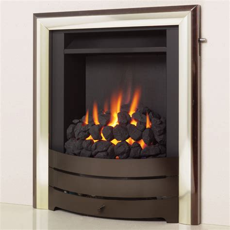 Shallow Gas Fireplace by Legend Spirit Superslim Stanningley Firesides