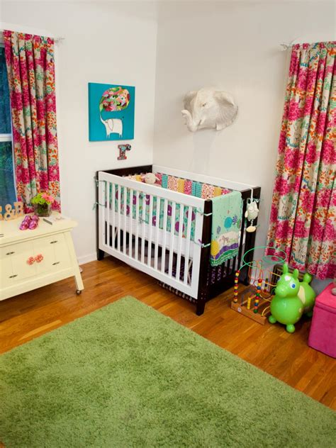 Corner Cribs For by An Eclectic Nursery For Hgtv