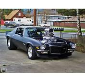 Photo Of A 1972 Chevrolet Camaro Pro/Street Insane One