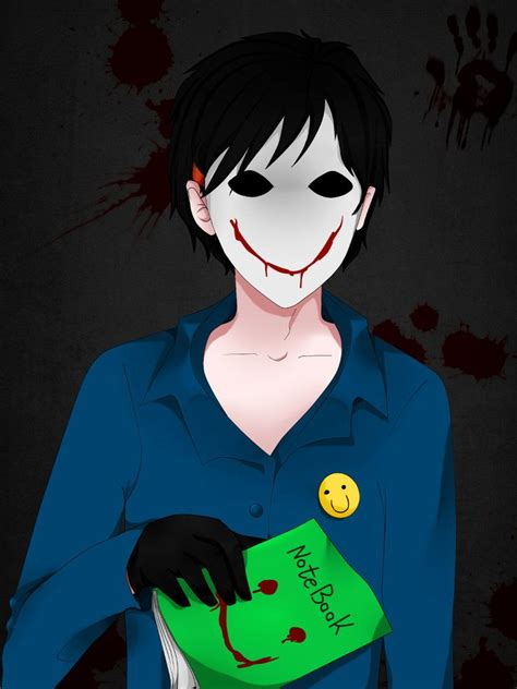 the bloody blood painter him on creepypasta