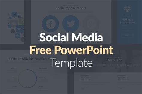 social media powerpoint template social media pro free powerpoint template presentations