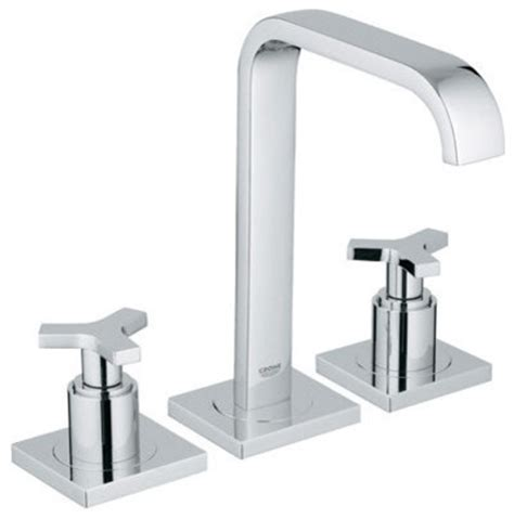 grohe widespread bathroom faucet grohe 20 148 allure widespread bathroom faucet modern