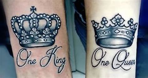 king queen tattoo bali 40 king queen tattoos that will instantly make your