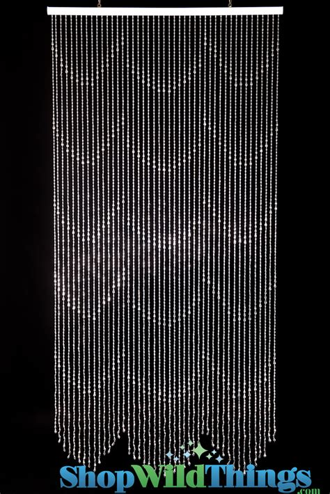 beaded curtains silver raindrops curtain metallic silver