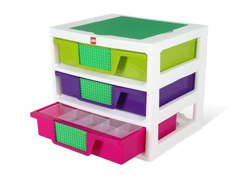 lego 174 3 drawer storage bin 5001164 bricks and more