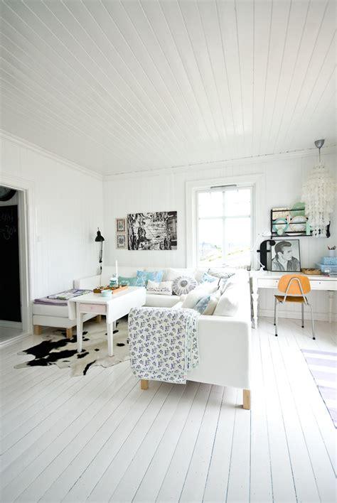 white paint living room scandinavian home fjeldborg nordic bliss