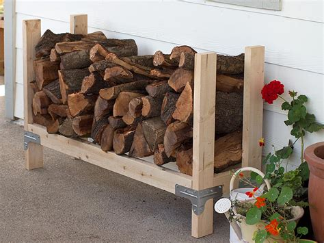 ana white firewood rack featuring diy done right diy projects