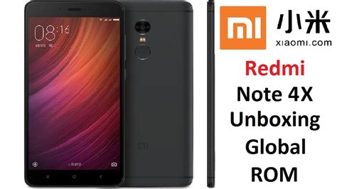 Limited Edition Xiaomi Redmi Note 4x Snapdragon unboxing review 4k xiaomi redmi note 4x global 3gb