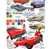 Dodge 1970 Challenger Page American Car Spotter's Bible
