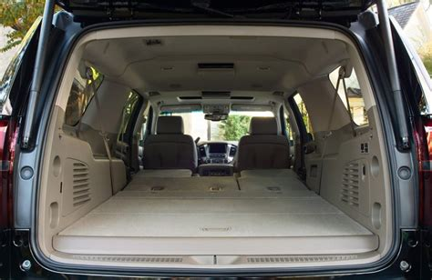 Chevrolet Suburban Interior Dimensions by 2017 Chevrolet Suburban Passenger And Cargo Space