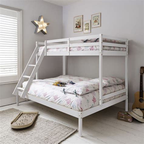 4 sleeper bunk beds sleeper bed bunk bed in white single kent