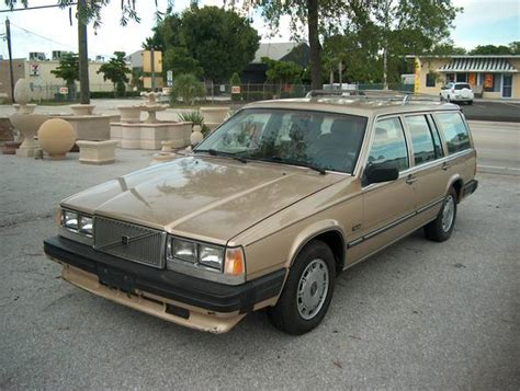 omfg its beautiful 88 volvo 740 gle wagon npocp