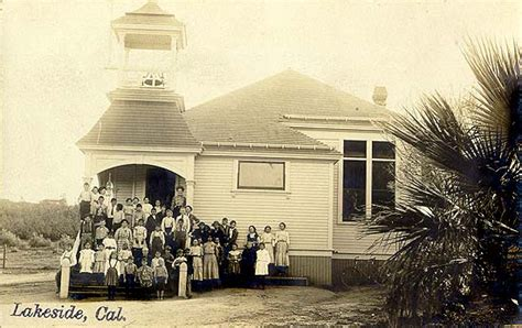 postcards  lakeside california san diego history