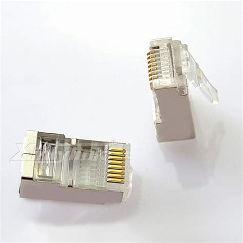 Connector Rj45 Cat6 50pcs xintylink 50pcs 100pcs rj45 connector cat5 cat5e network