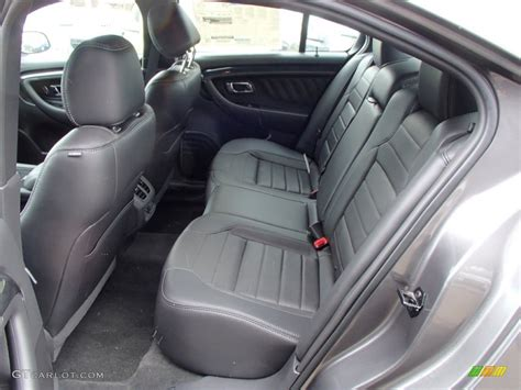 2013 Ford Taurus Limited Interior by Sho Charcoal Black Leather Interior 2013 Ford Taurus Sho