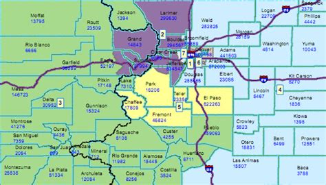 map of colorado county boundaries colorado redistricting colo supreme court sides with